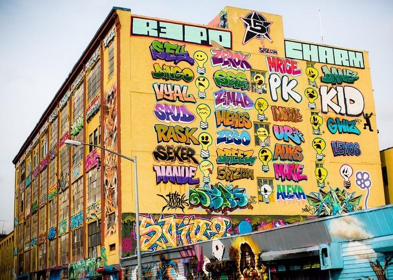 Úžasné graffity v podaní umelcov z celého sveta