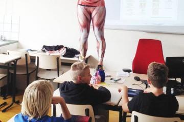 perfektný nápad ako vyučovať biológiu