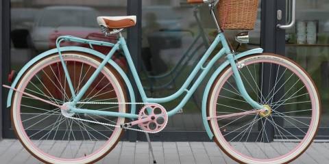 hipsterský bicykel