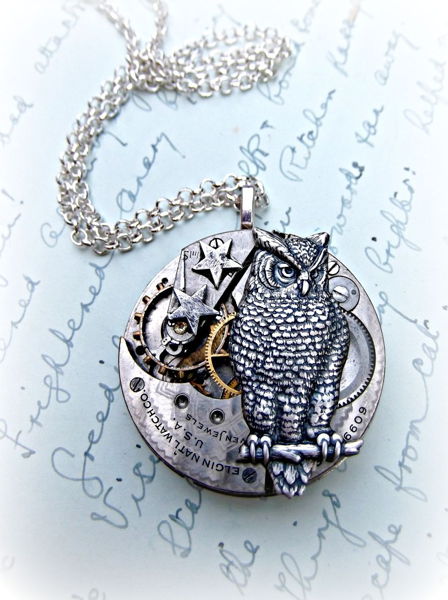 This-Mother-Daughter-Duo-Create-One-of-a-Kind-Jewellery-From-Antique-Pocketwatch-Parts__880