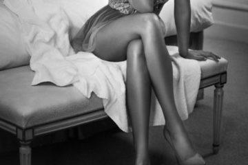 prekrížené nohy