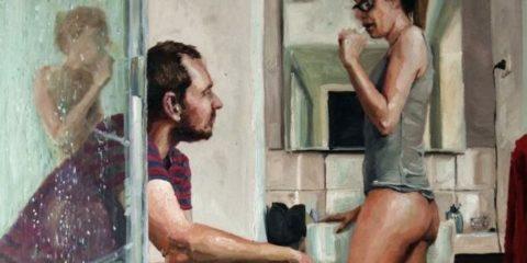 manžel maľba