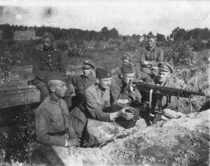 Polish-soviet_war_1920_Polish_defences_near_Milosna,_August