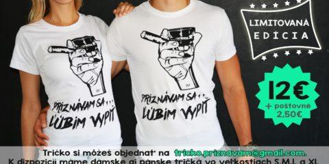 Tričko predaj WEB