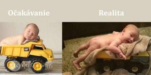 očakvanie vs realita