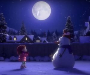lily-and-snowman