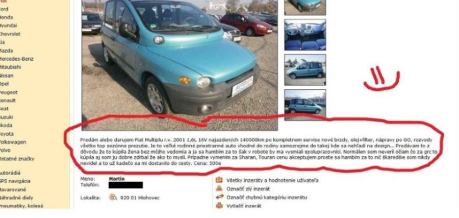 fiat-predaj-auto-inzerat-vtipne-bazos-skarede