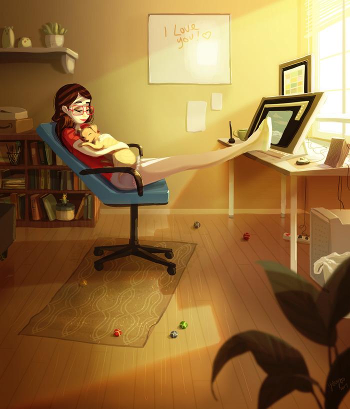 happiness-living-alone-illustrations-yaoyao-ma-van-as-36-59914f162b6f5-png__700