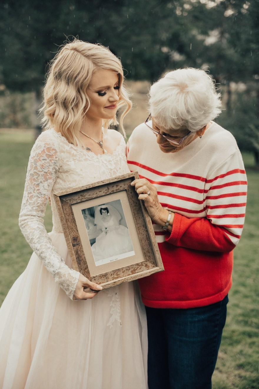 bride-wears-grandmother-old-wedding-1962-dress-penny-jensen-jordyn-cleverly-2