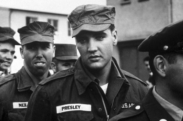 Elvis Presley v armáde, rok 1958