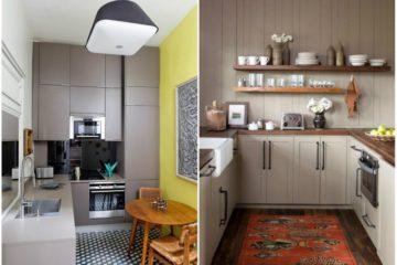 Kuchyna v tvare L alebo U