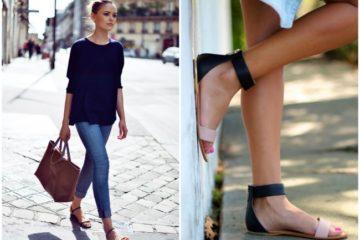 Nizke sandale